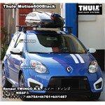 THULE Motion600ブラックをRENAULT TWINGO R.S.に装着