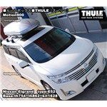 THULE モーション900シルバーを日産エルグランドE52系に取付した事例を紹介