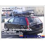 TERZOローライダー スリム ブラックEA126SBX :ホンダ:ストリーム:・:RN6 7 8 9: ルーフレール無し装着例