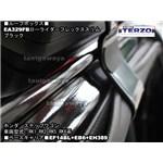 ホンダステップワゴンにTERZO:ローライダーフレックススリムブラックEA329FBを装着