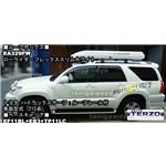 TERZO:ローライダーフレックススリムホワイトEA329FWをトヨタハイラックスサーフに装着