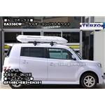 トヨタbBにTERZO:ローライダーコンパクトホワイトEA336CW